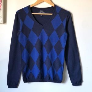 Tommy Hilfiger argyle sweater - size small